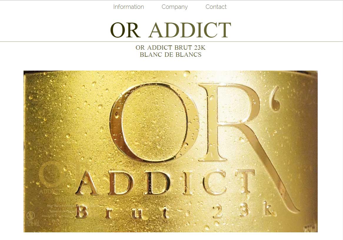 Website「OR ADDICT」イメージ